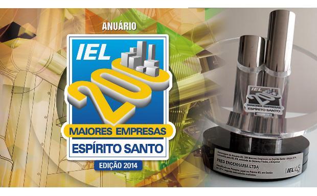 Pred Engenharia recebe reconhecimento dentre as 200 maiores empresas do Espírito Santo